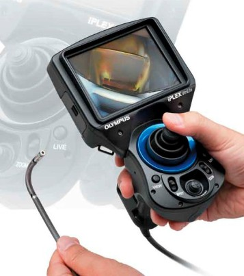 Olympus videoscope.
